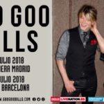 Goo Goo Dolls tocarán en España por primera vez en treinta años de carrera
