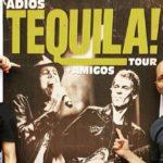 Adiós Tequila en vivo, disco en cd con dvd y doble vinilo